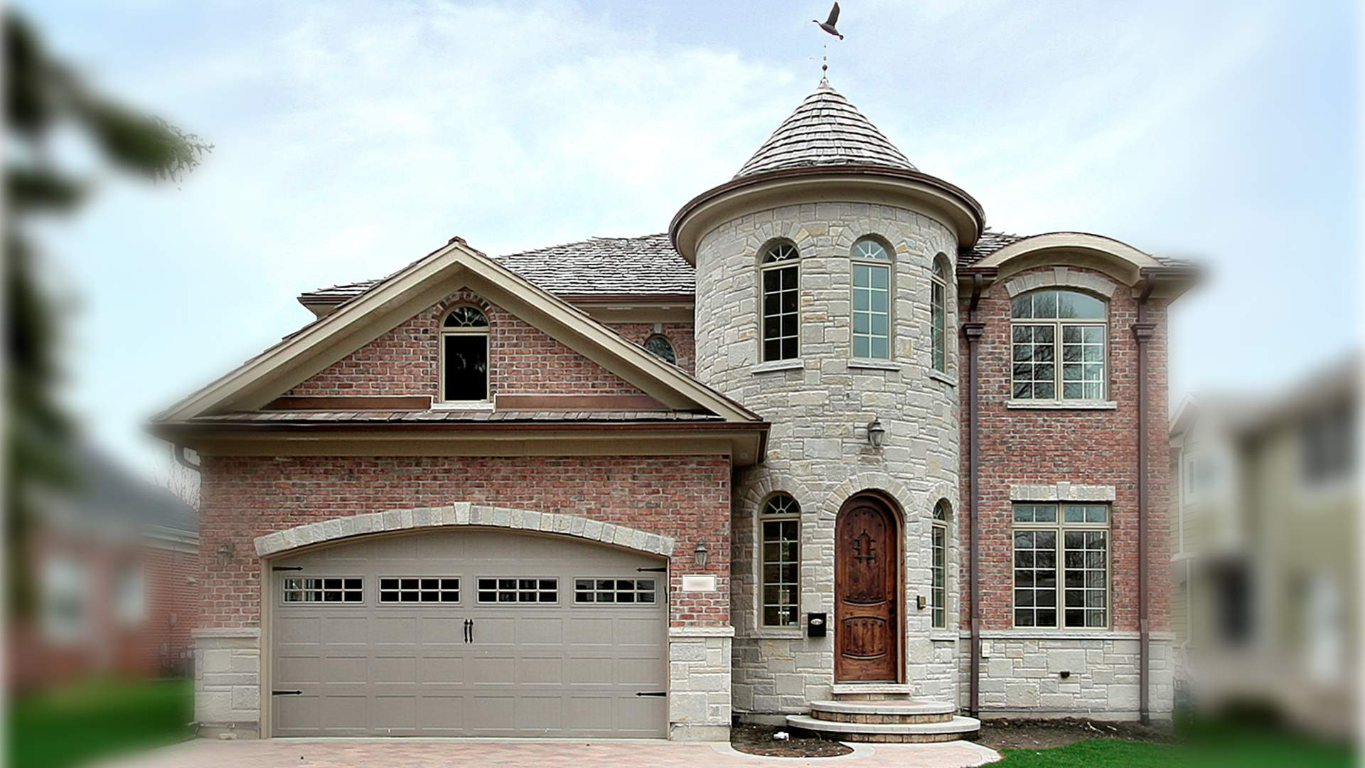 VHT House in Glenview by Greenleaf Developers - front view