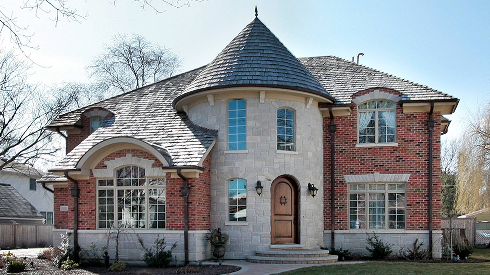 Dewes House in Glenview by Greenleaf Developers - front view