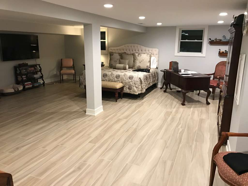 Kendale finished basement after