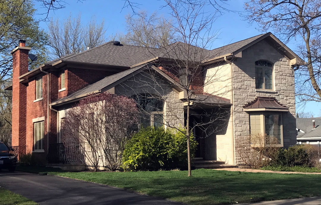 House in Glenview by Greenleaf Developers - front view