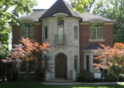 New Two story house in Winnetka